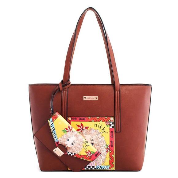 Nicole Lee Handbags - ✤ Nikky Madison (Nikky Aine) 2pc Handbag Set